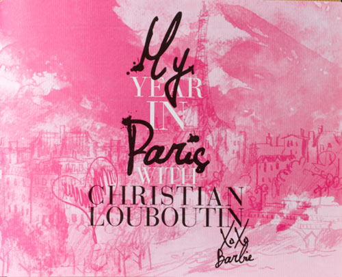 дневник куклы Барби и Кристиана Лабутена Christian Louboutin