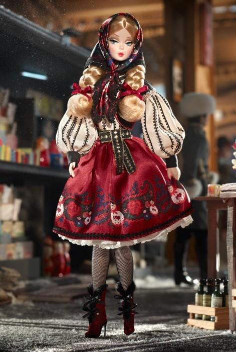 Коллекционная кукла Барби Силкстоун Silkstone Barbie Russian Mila