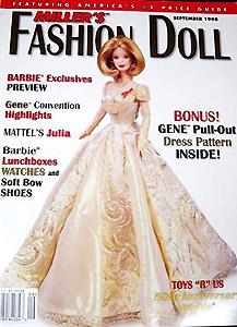 журнал для коллекционеров кукол Барби и других модных кукол