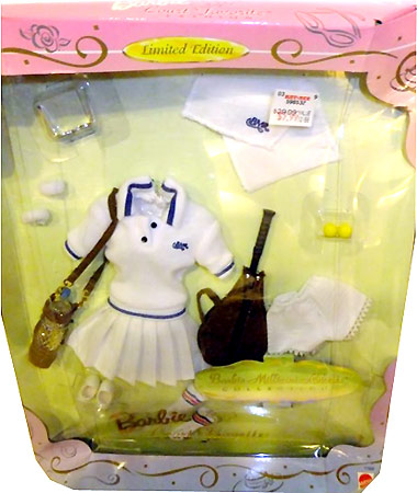 Костюм Барби для тенниса