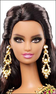 Фото коллекционной куклы Барби Марокко
