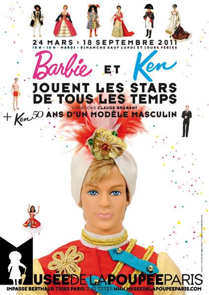 Две выставки в парижском Музее Куклы. История Кена и творчество Клод Брабант
