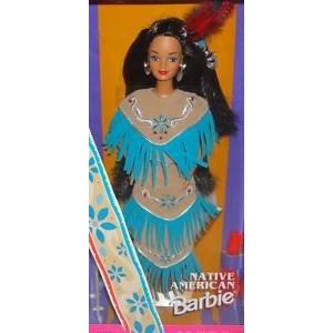 Индейская кукла Барби коллекционная