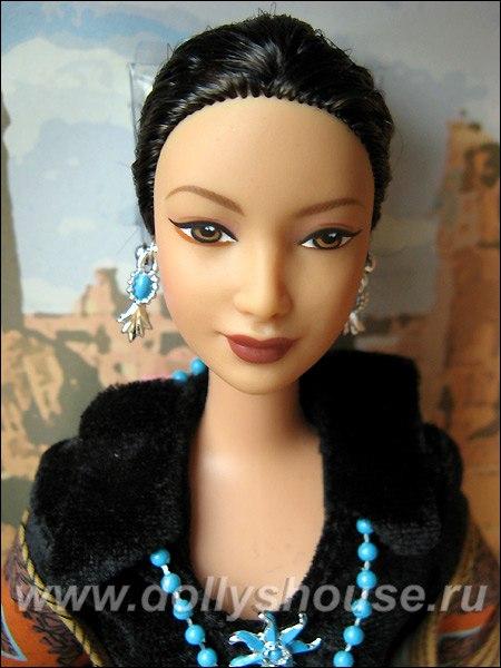 Коллекционная кукла Барби принцесса навахо