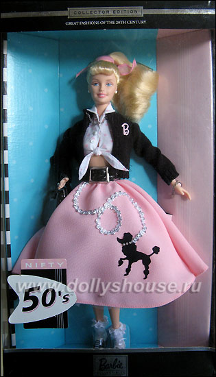 Коллекционная кукла Барби Barbie Nifty 50s