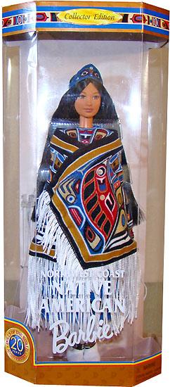 Кукла Барби североамериканские индейцы