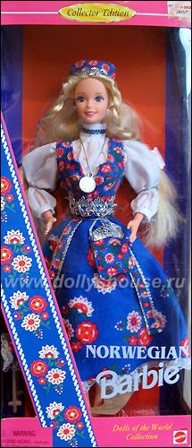 Коллекционная Барби Норвегия
