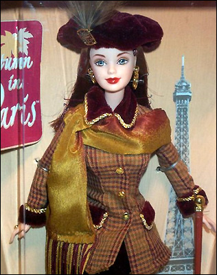 Коллекционная Barbie Autumn in Paris