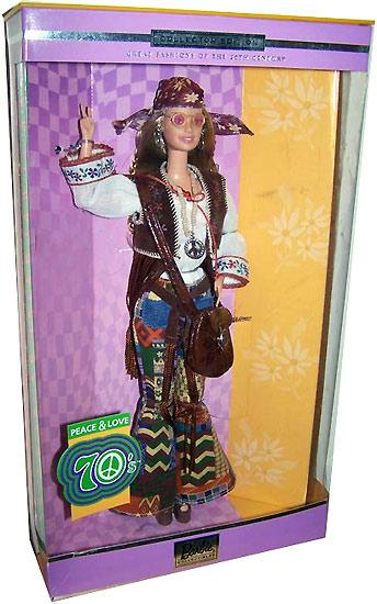 Коллекционная Кукла Барби хиппи фото