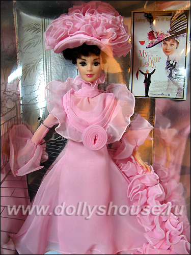 Коллекционная кукла Барби Моя Прекрасная Леди в розовом