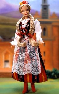 Коллекционная кукла Барби Польша