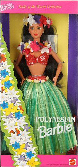 Коллекционная Барби Полинезия