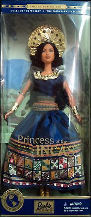 Принцесса Инков кукла Барби
