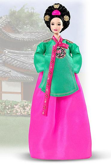 коллекционная Барби принцесса Кореи