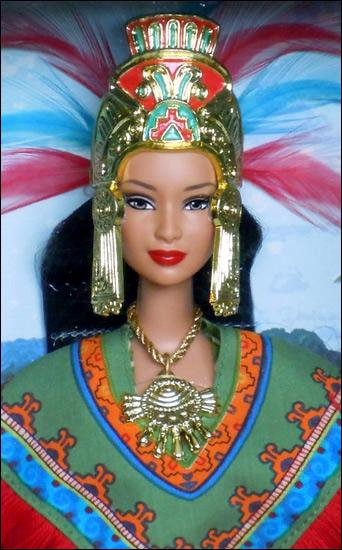 Принцесса Мексики Барби Принцессы Мира