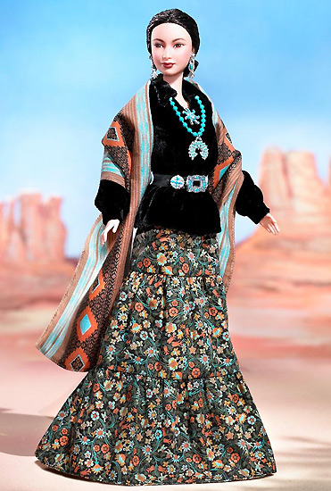 Barbie принцесса навахо