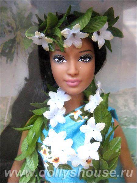 Коллекционная кукла Барби принцесса Тихоокеанских островов