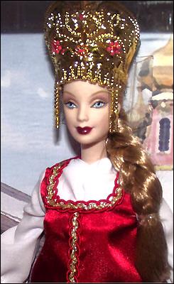 Барби Принцесса России