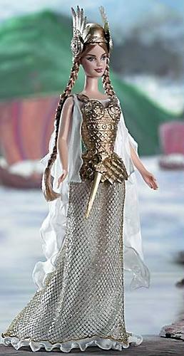 Коллекционная Барби принцесса викингов