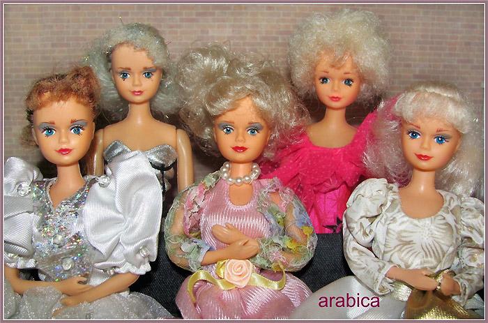 1990-е годы Куклы Санди коллекция