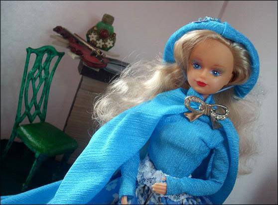 Кукла Sandy Сэнди в авторском платье