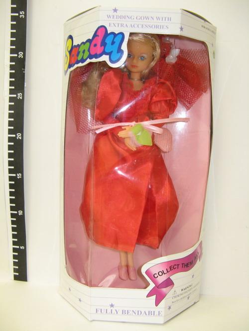 Кукла Санди Сэнди в коробке 1990-е
