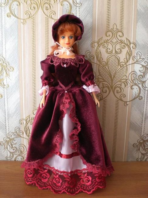 Рыжая кукла Sandy