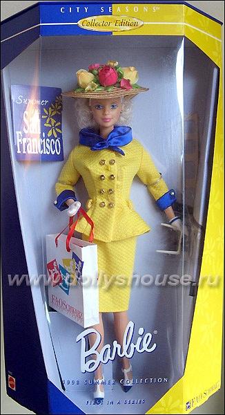 Коллекционная кукла Барби Summer in San Francisco Barbie