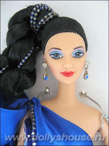 Коллекционная кукла Барби от Боба Мэкки Sapphire Splendor Barbie