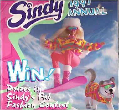 Журнал о кукле Синди Sindy