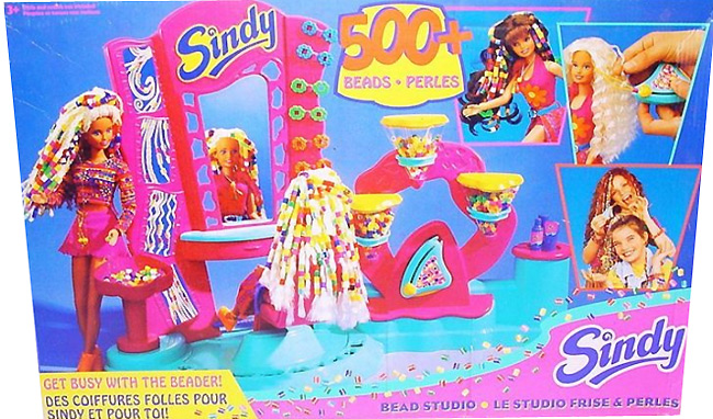 Набор аксессуаров для куклы Синди салон красоты