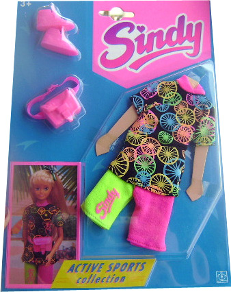 Спортивная одежда для кукол Синди Sindy 90-е