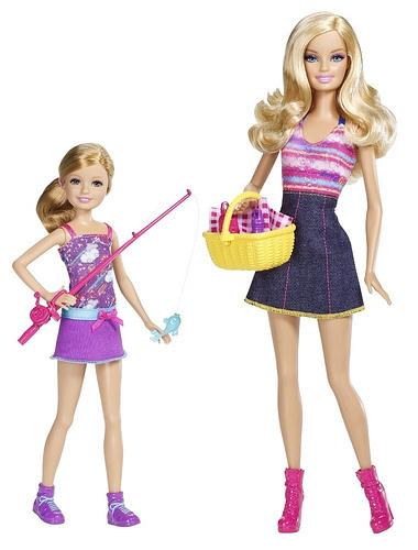Набор Сестры на рыбалке Барби и Стейси Barbie & Stacie go Fishing