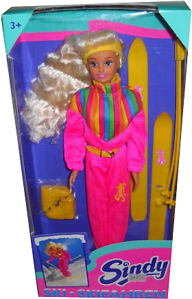 Кукла Синди лыжница Ski Sindy