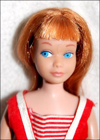Винтажная кукла Скиппер Skipper сестра Барби