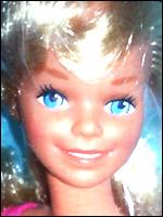 Молд куклы Скиппер Skipper 1979