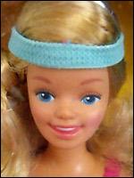 Молд куклы Скиппер Skipper 1985