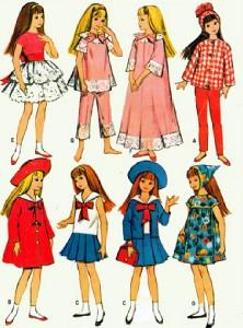 фэшн-рисунки куклы Скиппер