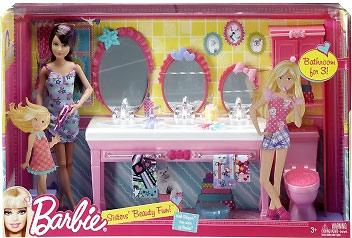 игровой набор Скиппер Barbie Sisters Beauty Fun
