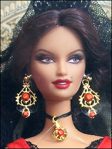 Куклы мира Barbie испанка
