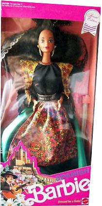 Коллекционная кукла Барби Испания Spanish Barbie