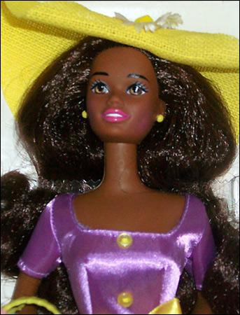 Темнокожая кукла Барби Spring Blossom