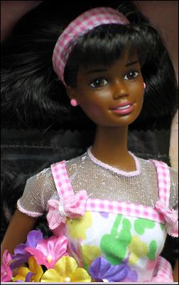 Кукла Барби темнокожая афроамериканка Spring Petals Barbie AA