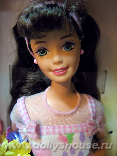 Кукла Барби брюнетка Spring Petals Barbie