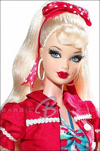Редкая коллекционная кукла Барби Hello Kitty 2008