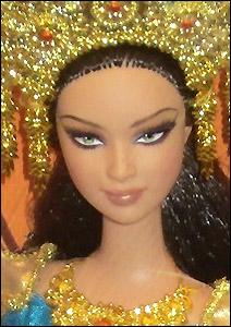 Куклы мира кукла Барби Суматра Индонезия