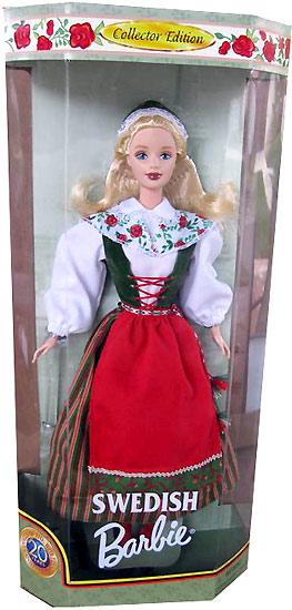 Барби Швеция коллекционная