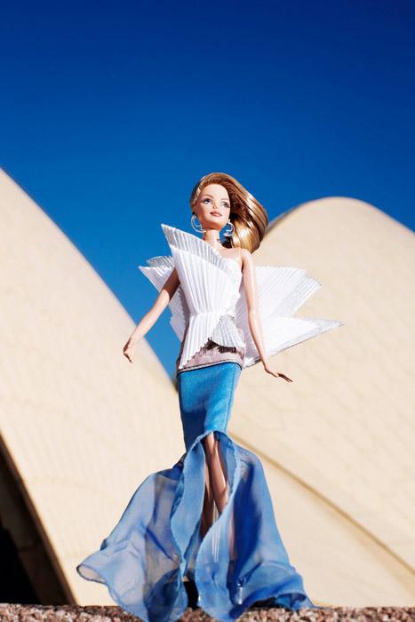 Блистательный дебют Sydney Opera House Barbie в Австралии. Январь 2011