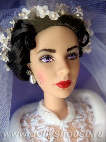 Коллекционная кукла Барби Элизабет Тейлор Отец Невесты