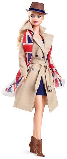 Коллекционная кукла United Kingdom Barbie Барби Великобритания